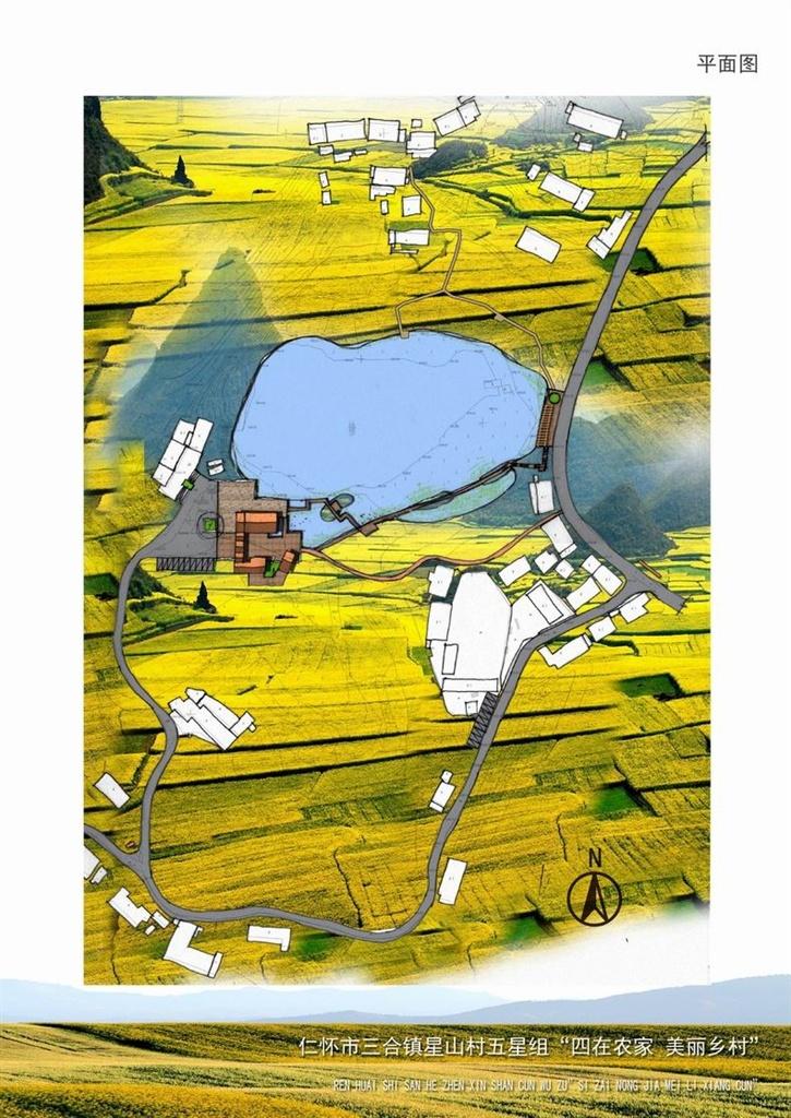 杭州西湖植物配置平面图