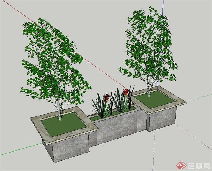 盆景 盆栽 平面图 植物 700_564