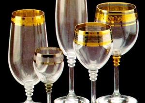 20张玻璃器皿材质贴图