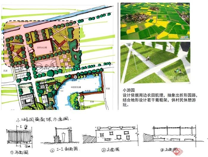 古典乡村公园景观规划包含简报pdf格式