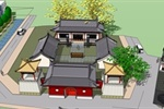 淄博博山古建改造设计 (3)