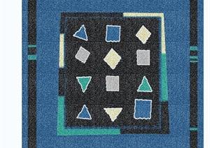 20余张矩形地毯材质贴图