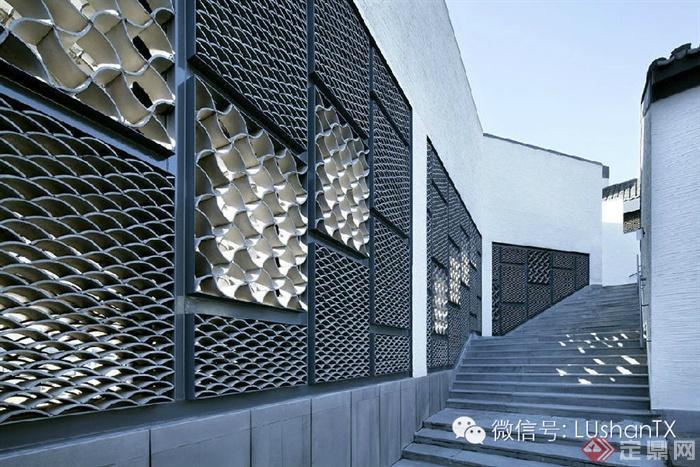中式园林意境的完美诠释--绩溪博物馆-青瓦墙台