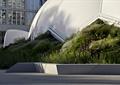 矮墙,草坪,异形建筑