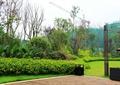 花卉植物,六件套,路灯,草坪,灌木植物,落叶乔木,住宅景观