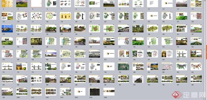 某山村旅游度假景观规划设计PPT文本