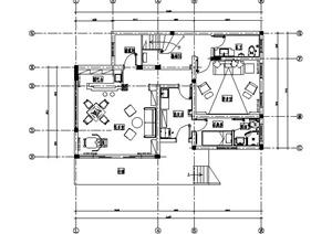 地中海风格别墅室内装修施工图