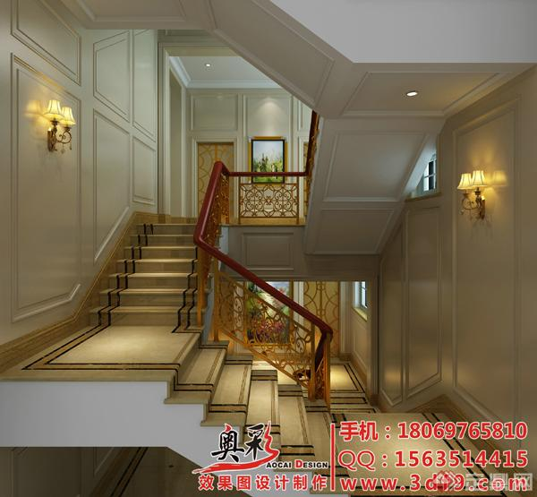 10楼梯间效果图