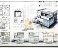 住宅建筑,居住建筑,三层住宅