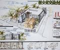 交流中心,茶餐厅,餐饮建筑,多层建筑