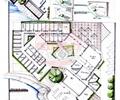 旅游服务中心,酒店,餐厅,商业建筑