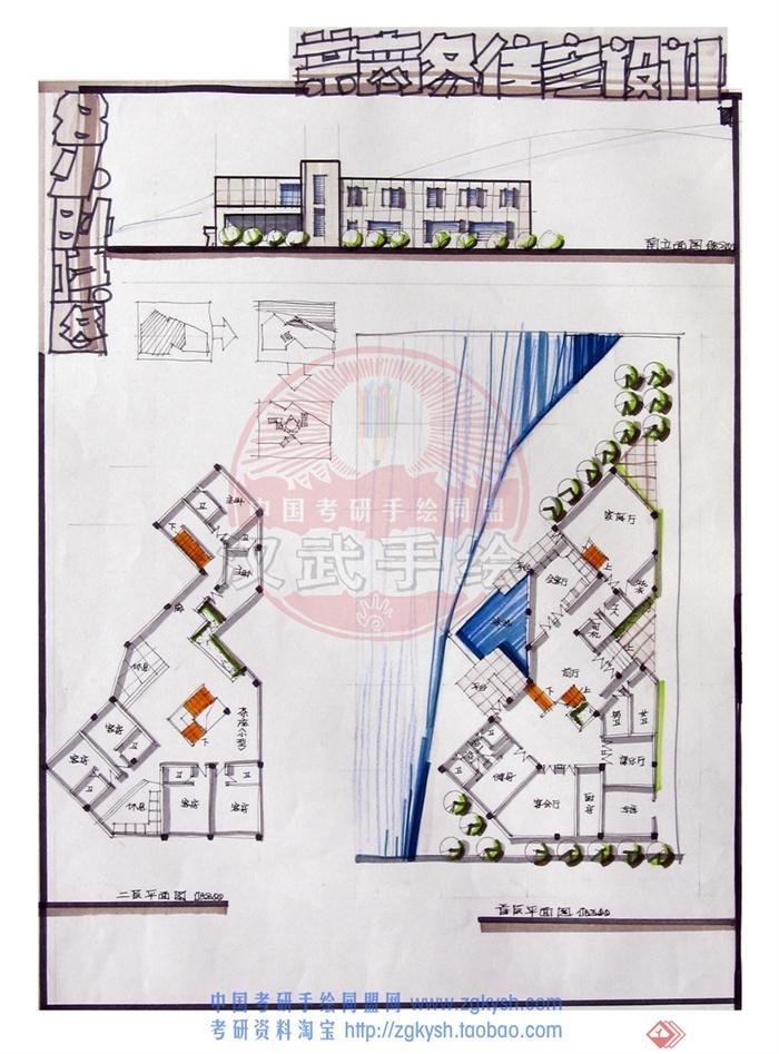 住宅建筑,居住建筑,两层住宅