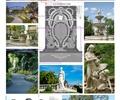 雕塑小品,花镜,景观柱,喷泉水景