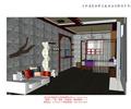 沙发,茶几,装饰墙,单人床,单人客房,客栈