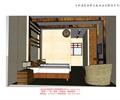 单人床,沙发,床头柜,吊灯,双人房,客房,客栈