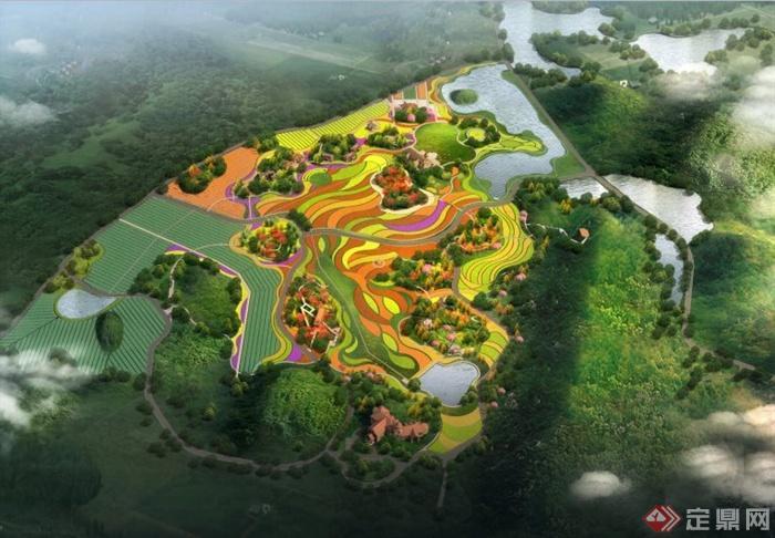 重庆某生态观光农业旅游景区规划方案文本