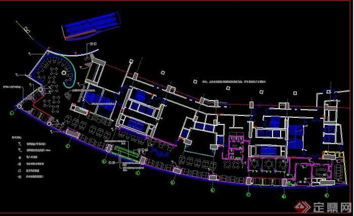 现代简约风格咖啡厅室内设计方案(带效果图)(7)