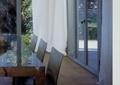 餐厅,窗帘,窗户,餐桌椅,木地板