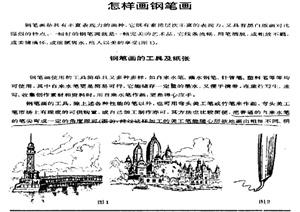 中外建筑钢笔画PDF资料