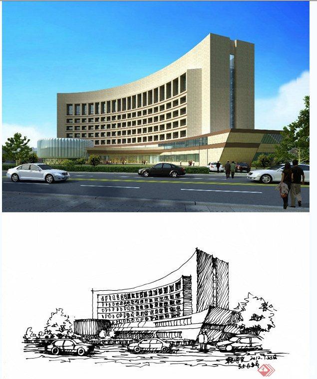 建筑设计JPG原创图纸[导入]的怎么手绘图纸层解锁图鲁班图片