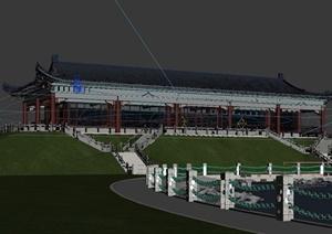 某古建观景房建筑设计3dmax模型