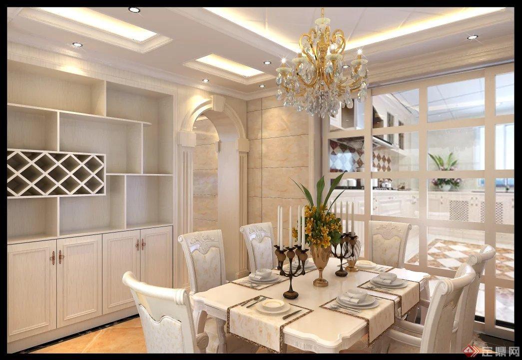 美式室内装修设计-创意设计工作室图片