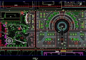某学校校园景观规划毕业设计