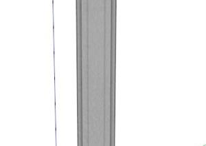 景观罗马柱SU(草图大师)模型
