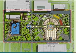 某校园景观设计规划方案