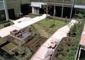 庭院,草坪,跌水小品,石頭