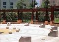 广场,广场景观,广场铺装,景石,地面拼花,地面铺装