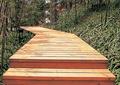 模板铺装,道路铺装,木板路,木板铺装