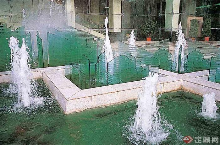 水池,水景,水,水体景观,喷泉,喷泉台,喷泉广场,喷泉水柱,喷泉景观,喷泉水池景观,喷泉水池