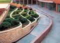 层叠式花池,矮墙,挡土墙