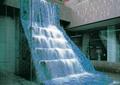 叠水景观,瀑布,景观水池