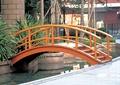 橋,拱橋,木橋,欄桿扶手,欄桿圍欄