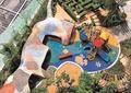 儿童游乐设施,儿童活动中心,儿童游乐场,游乐场地,廊架