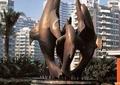 雕塑,动物雕塑,海豚雕塑