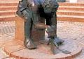 人物雕塑,雕塑,雕塑小品,人物,人物素材