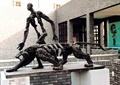 雕塑,动物雕塑,人物雕塑,抽象雕塑,围墙