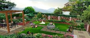 某庭院花园设计