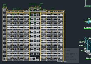 11层剪力墙单身公寓建筑毕业设计CAD图