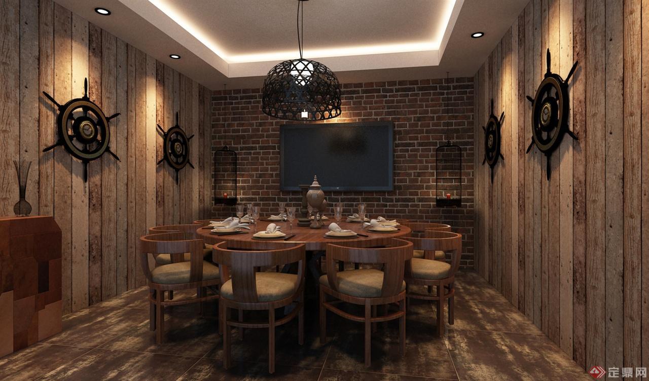 餐饮室内装修案例