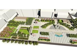 某校园景观规划毕业设计方案(含cad、SU(草图大师)、册子)