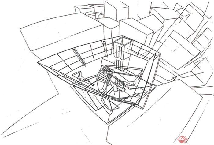 工程图 简笔画 平面图 手绘 线稿 700_474