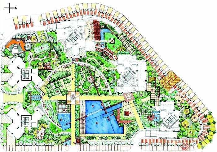 现代园林景观快题设计方案jpg格式(1)