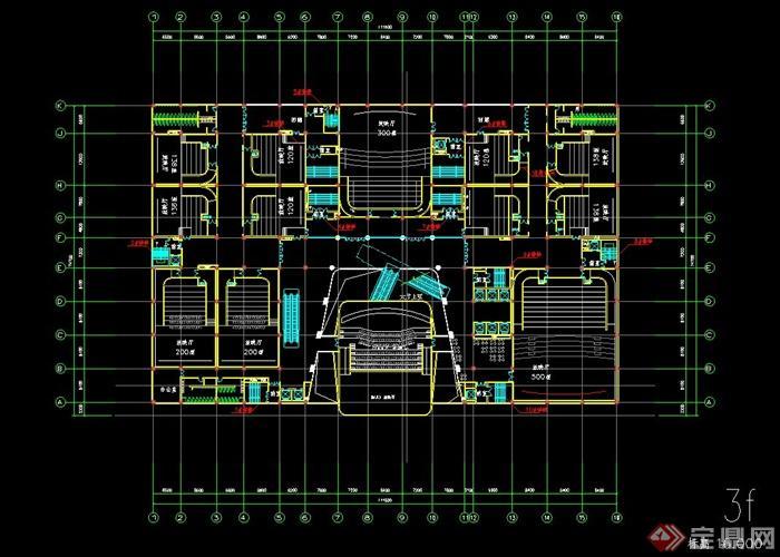 某现代电影院室内cad设计方案,该方案包含了放映厅、影院大厅等,该图纸绘制详细,标注明确,具有很好的参考价值,欢迎借鉴及下载使用。