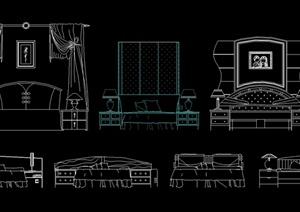 室内装修设计CAD立面图-最全的园林景观建筑室内装修设计师素材库