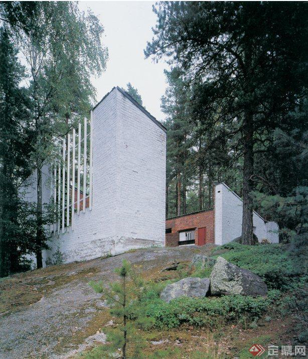 某山地别墅建筑设计JPG实景图