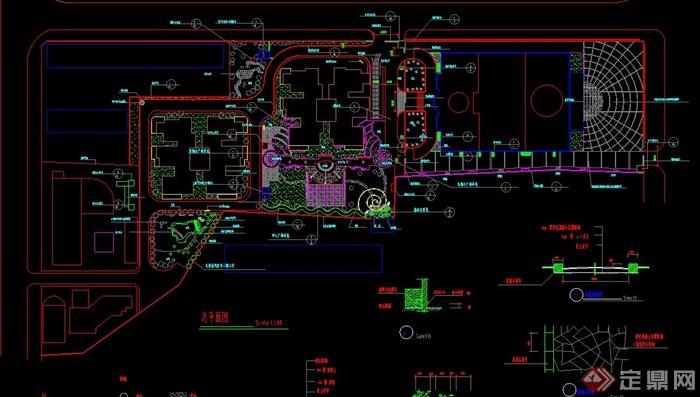 某别墅住宅景观设计CAD施工图